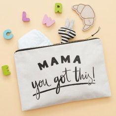 Mama, You Got This! Canvas Pouch