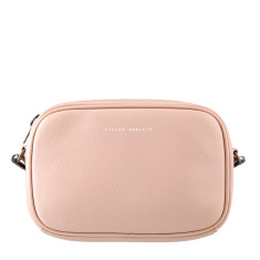 Plunder leather bag in pink