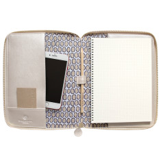 Zip Compendia Document Holder & Pad In A5 - Gwibiirr