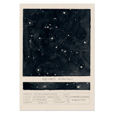 Zodiac Constellations art print