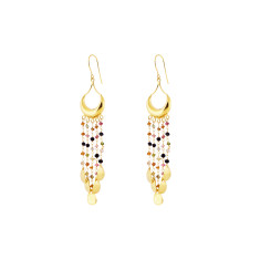 Cala Earrings With Multi Tourmaline