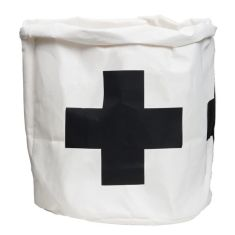 GE wash paper bag in black cross