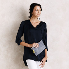 Florencia top in Navy