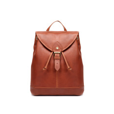 TheCultured Leather Backpack In Tan