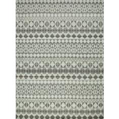 Silver/Natural Mushroom handmade flat weave rug