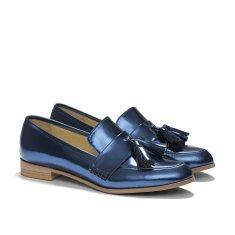 Ecstasy tassel loafers in cobalt blue