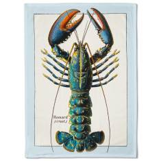 French Lobster Tea Towel