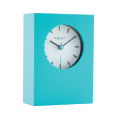 London Clock Company Tangent Teal Table Clock