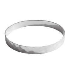 Journey bangle in sterling silver