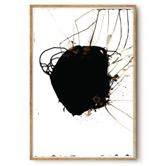 Black Jelly wall art print