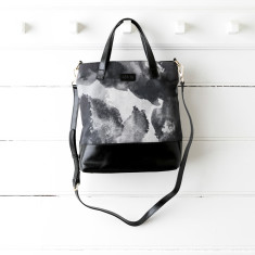 Black Ink Handbag