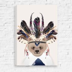 Tribal Bear Canvas