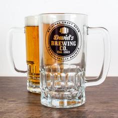 Personalised Brewing Company Beer Tankard