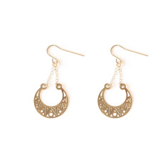 Gold Aroura Earring