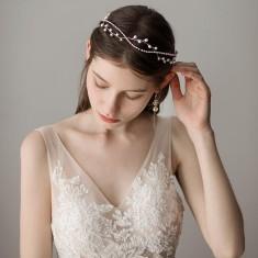 Duplicated from: Crystal leaf headband