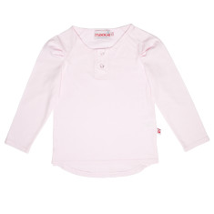 Girls' Pink long sleeve top
