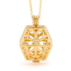 Eternity Gold Perfumed Necklace