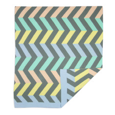 Weegoamigo Knit Blanket - Spectrum