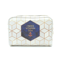 Vitamin Sea Vegan Leather Large Toiletry Wash Bag