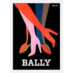 Bally Legs Print