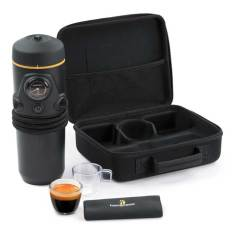 In-car espresso coffee maker set