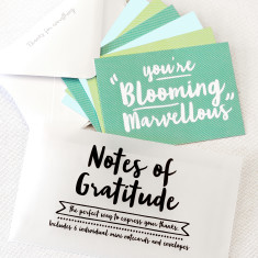 Little notes of gratitude notecards (set of 6)