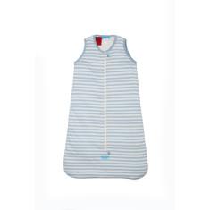 Sleeveless 2.5 tog baby sleeping bag in Blue