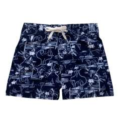 Boys Nautical Board Short