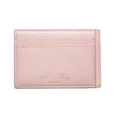 Audace Unisex Card Holder - Blush/Beige