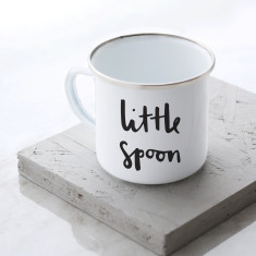 Little Spoon Enamel Mug