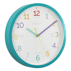 Kids' Tell The Time Silent Wall Clock