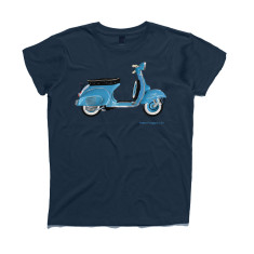 Vespa Scooter Hand Painted Kids' t-shirt