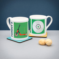 Personalised Scooter (Est. 1990's) Mug