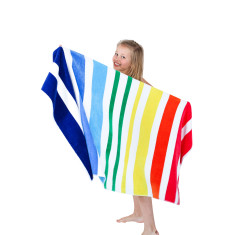 Party Mix Kids beach towel with pockets