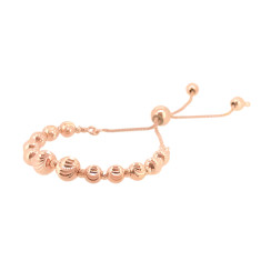 Italian slide bracelet in rose gold