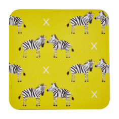 Zebras coasters (set of four)