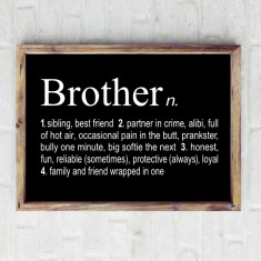Brother dictionary print