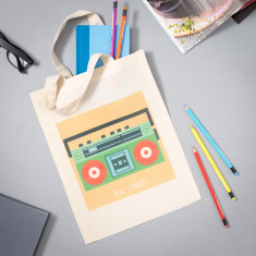 Ghetto Blaster (Est. 1980's) Magazine Bag