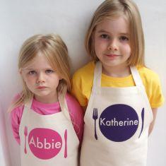 Personalised kids animal apron (various styles)