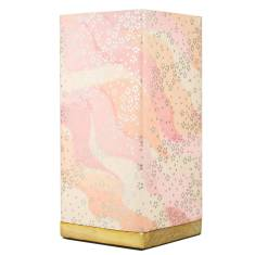 Kami Lamp In Pink Petals