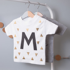 Personalised Initial Children's T Shirt