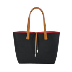 Reversible Tote + Hidden Bag