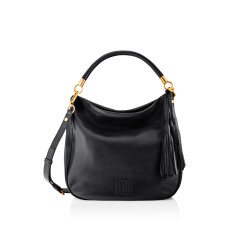 Harper Luxe Shoulder Bag - Black