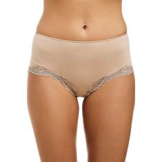 Classic Lace Boyleg - Nude