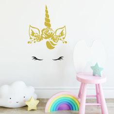 Baby Unicorn Wall Decal