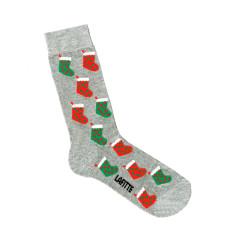 Lafitte marle grey Christmas stocking socks