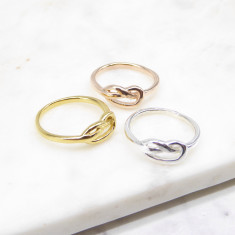 Knot Ring (silver/gold/rosegold)