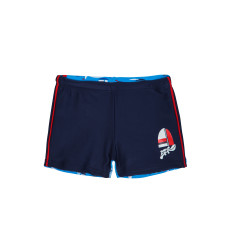 Boys' UPF5+ boyleg square swim trunk