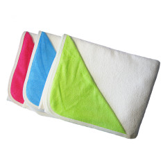 Baby bath towel (various colours)