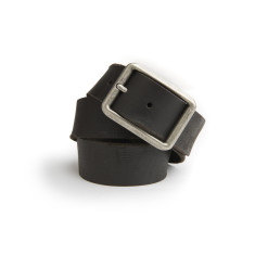 Liam leather belt in black